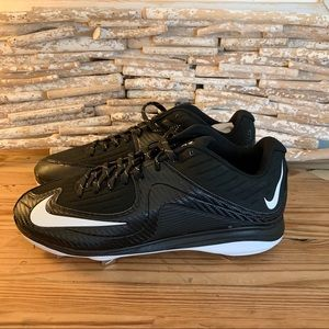 NIKE AIR BASEBALL CLEATS (684685-010) MENS SIZE 10